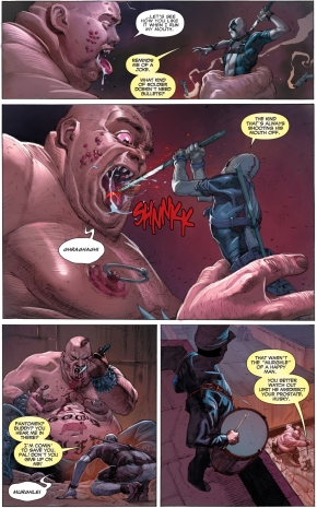 deadpool and fantomex vs age of apocalypse blob