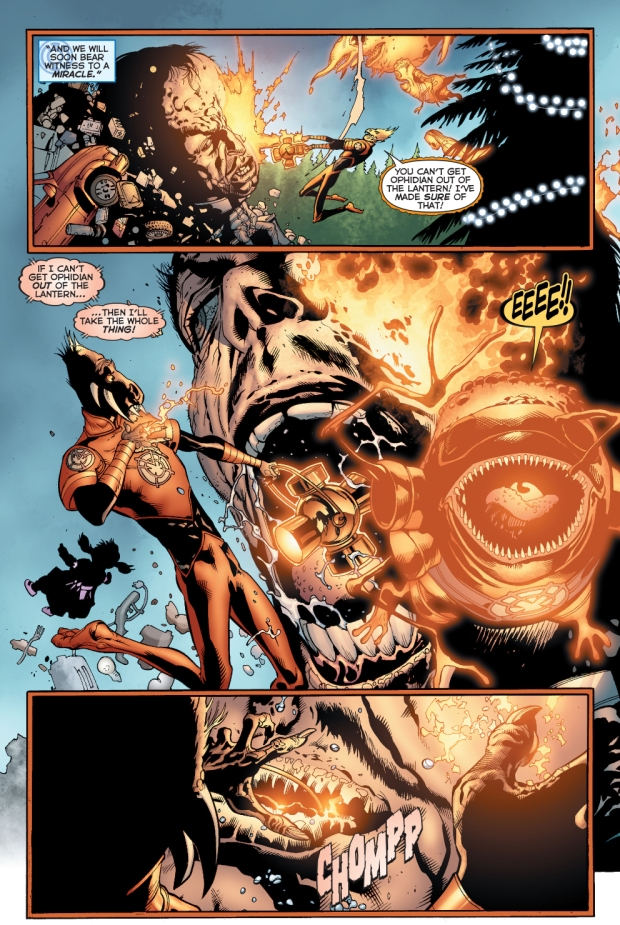 green lantern and larfleeze vs hector hammond