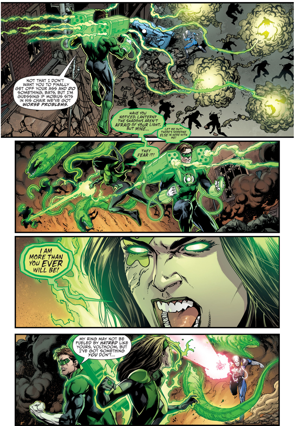 Green lantern ring comic - photo#21