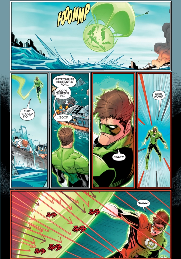 Green lantern and harley quinn parody 2