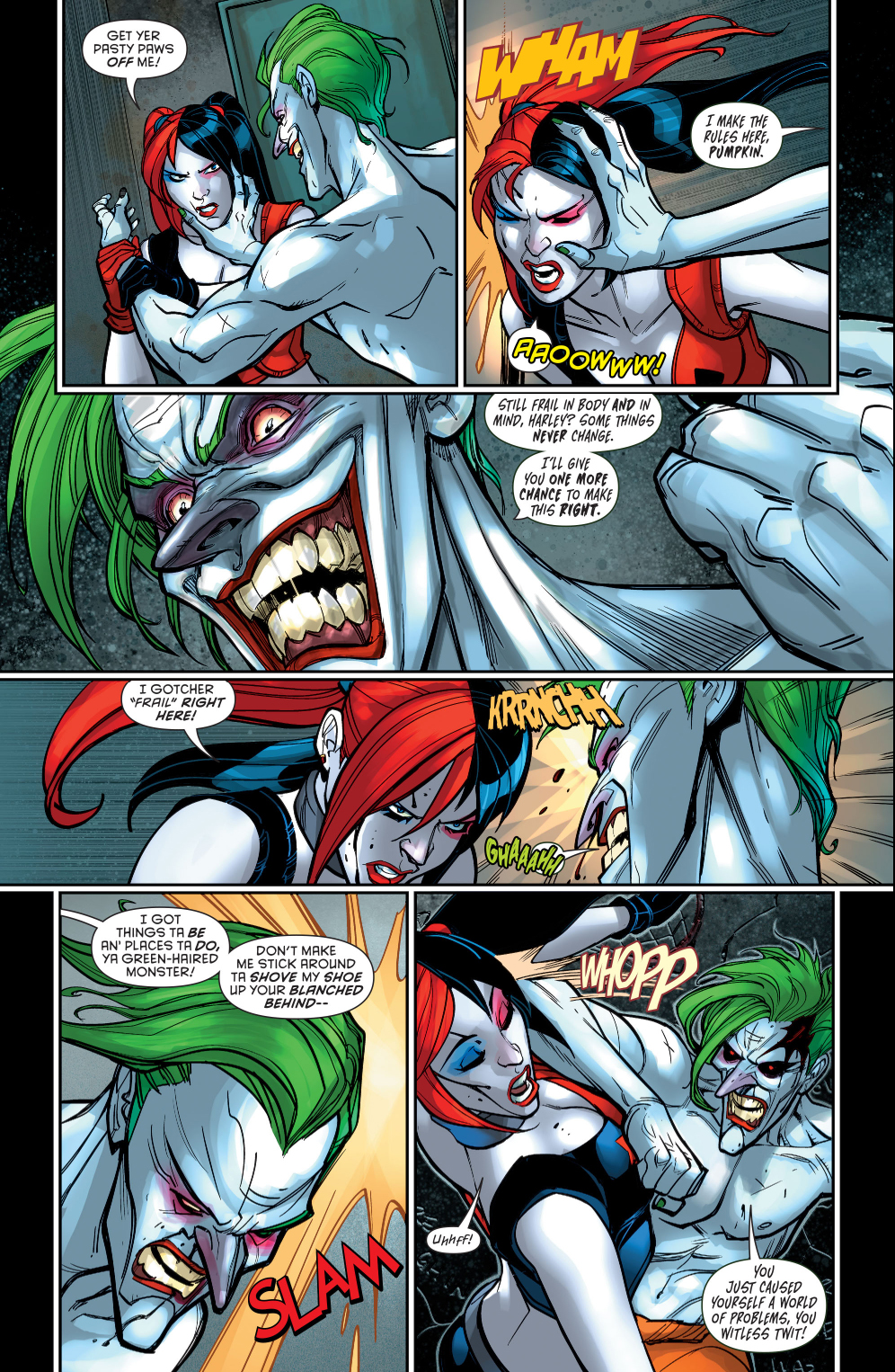 harley quinn vs the joker comicnewbies