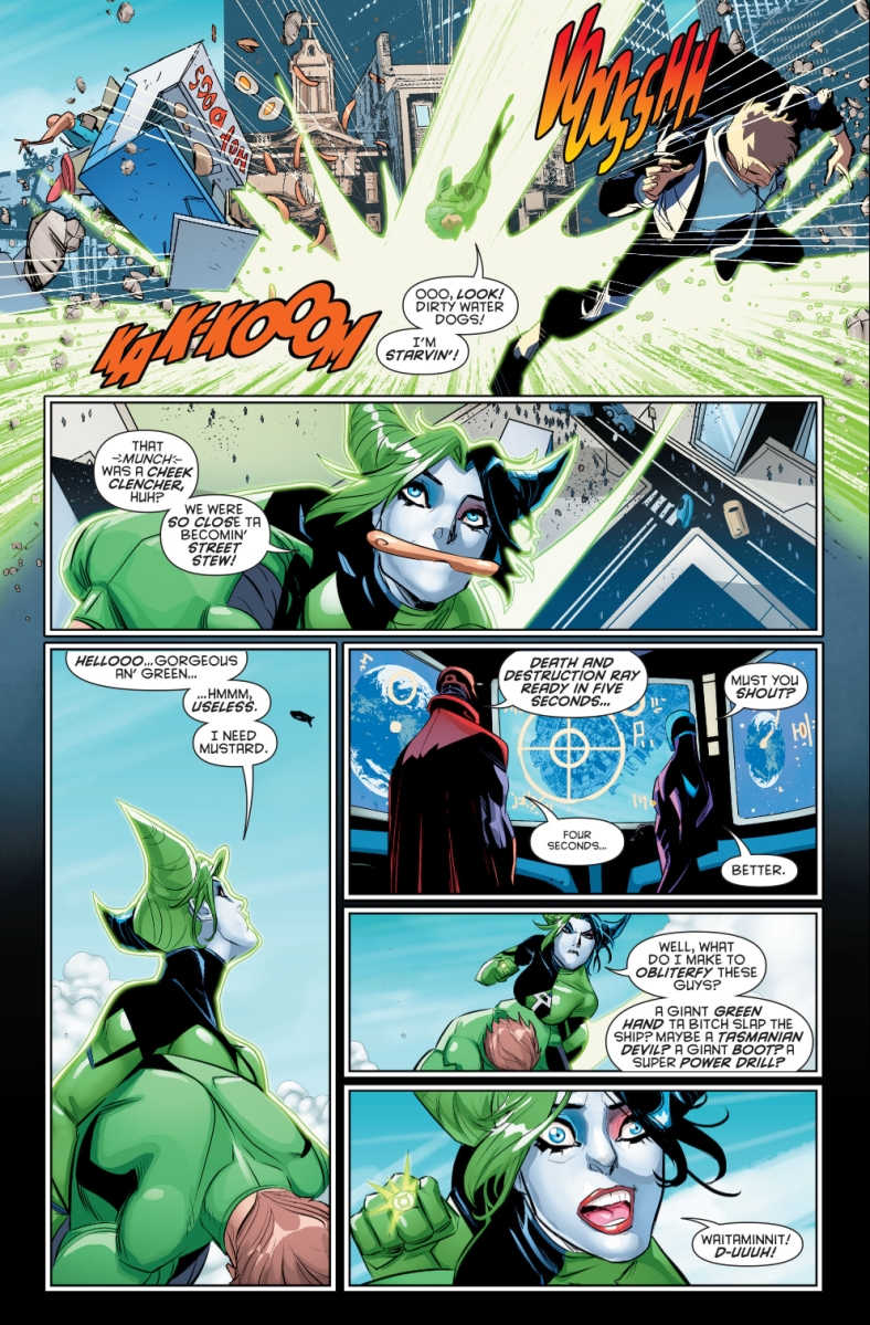 Batman Wears The Green Lantern Ring