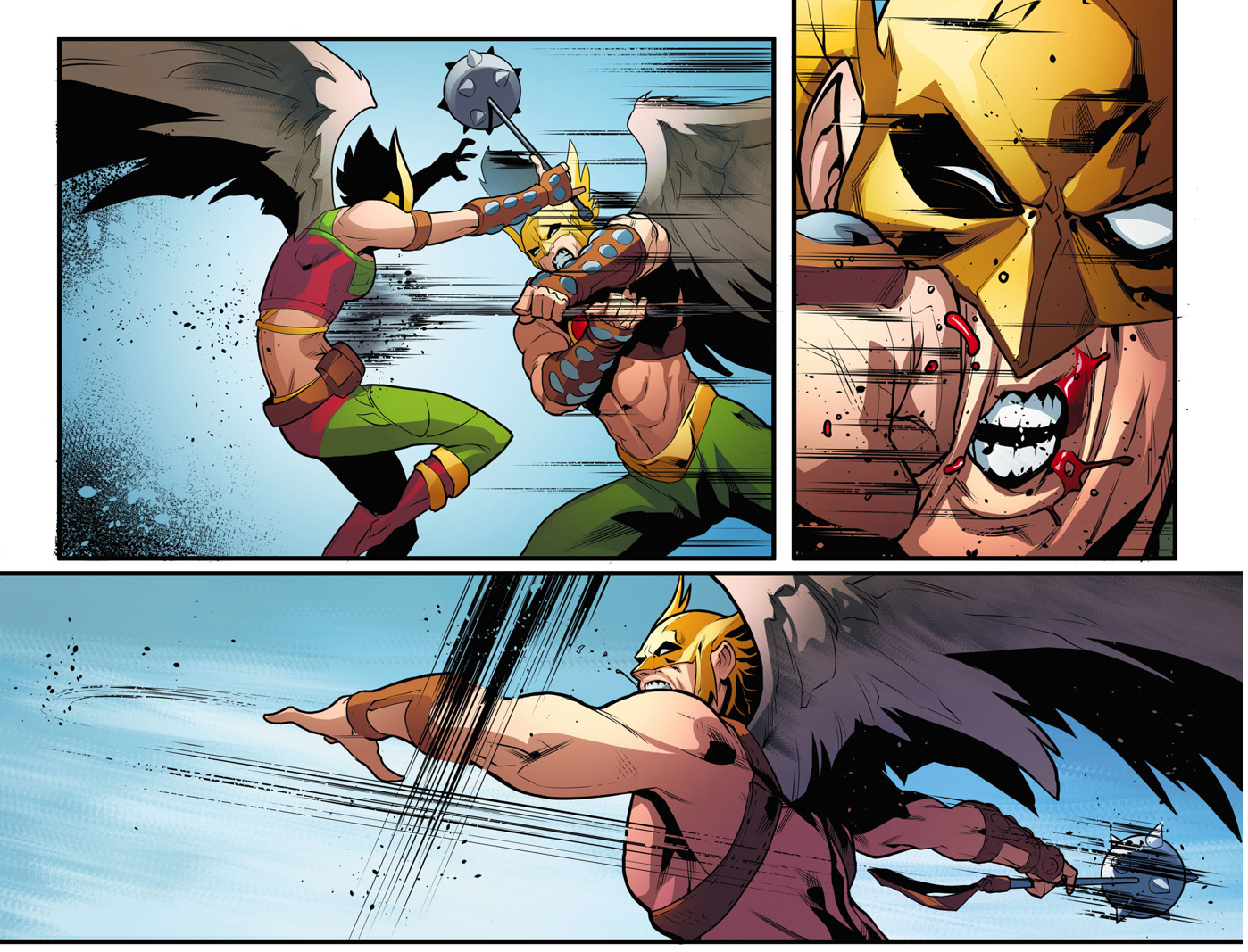 Hawkgirl Vs Wonder Woman