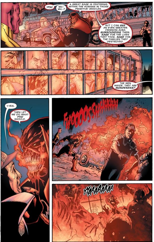 how atrocitus deals with murderers