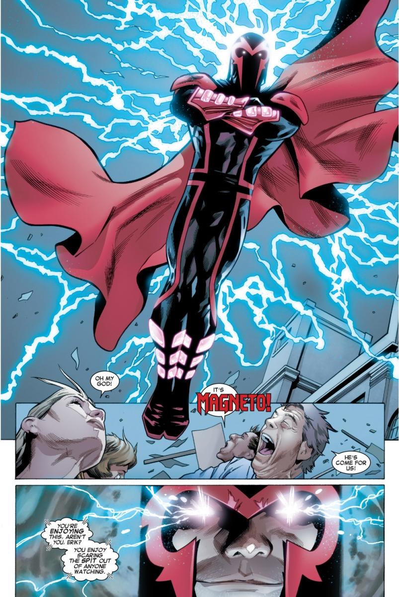 Magneto VS The Dark Riders – Comicnewbies