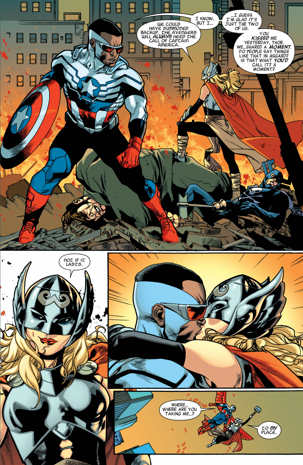 miss marvel's fanfic ships captain america and thor | comicnewbies