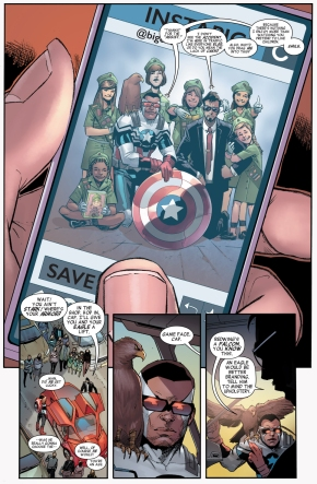 sam wilson's problem with being captain america