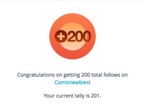 200 follows