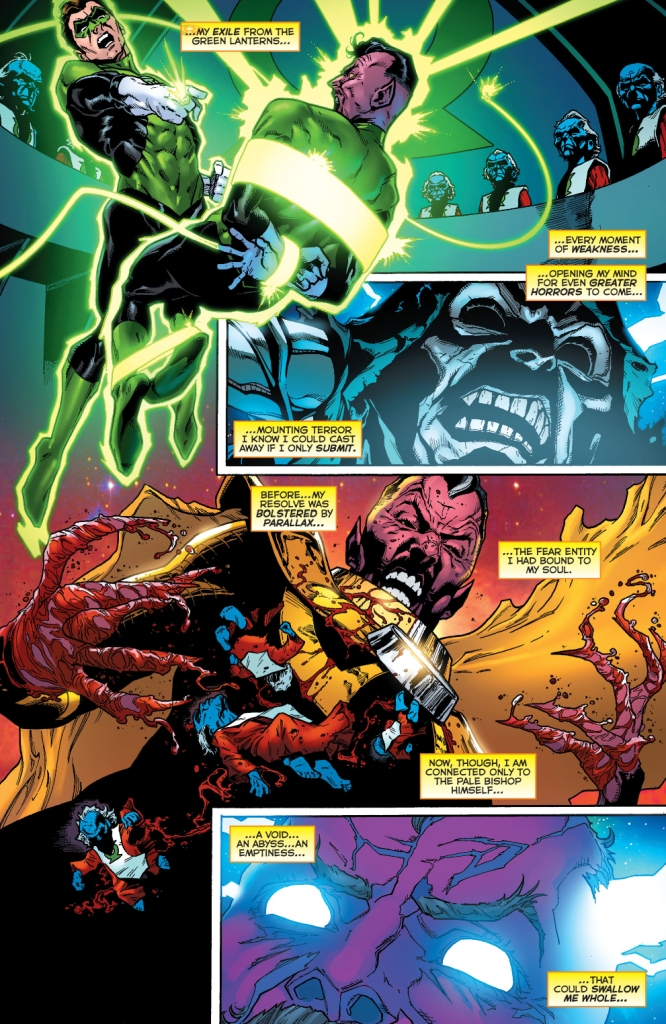 sinestro's greatest tragedies