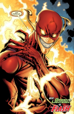 the flash possessed by parallax