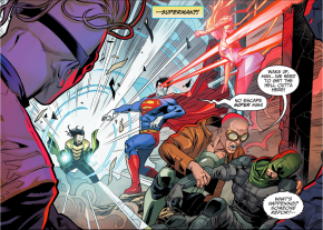 the rogues vs bizarro (injustice gods among us)