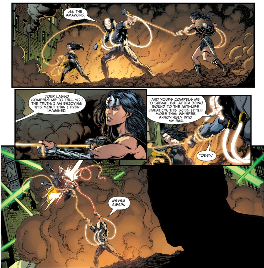 wonder woman and superwoman vs mobius
