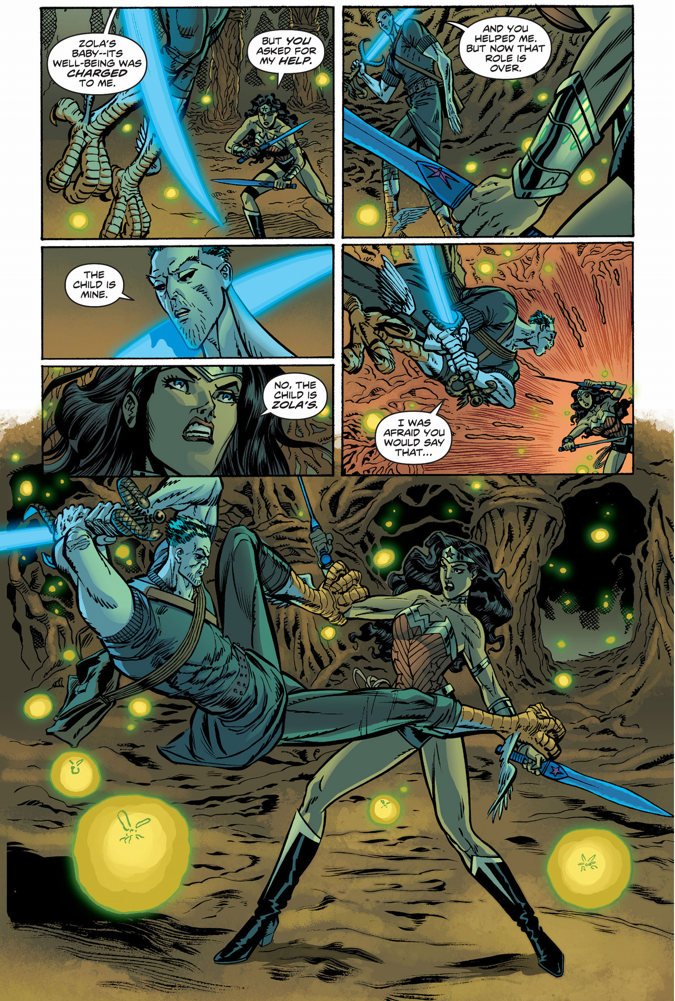 Wonder Woman VS Hermes | Comicnewbies