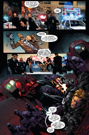agent venom escapes from superior spider-man