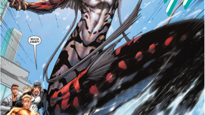 Aquaman's First Meeting With Dead Water