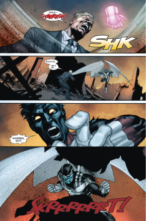 Archangel Kills William Stryker (Second Coming)