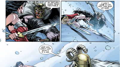 Ares VS Wonder Woman