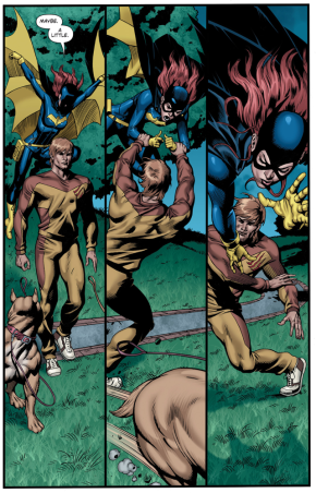 Batgirl VS Catman (New 52)