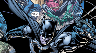 Batman And All 4 Robins (Batman & Robin Eternal #26)