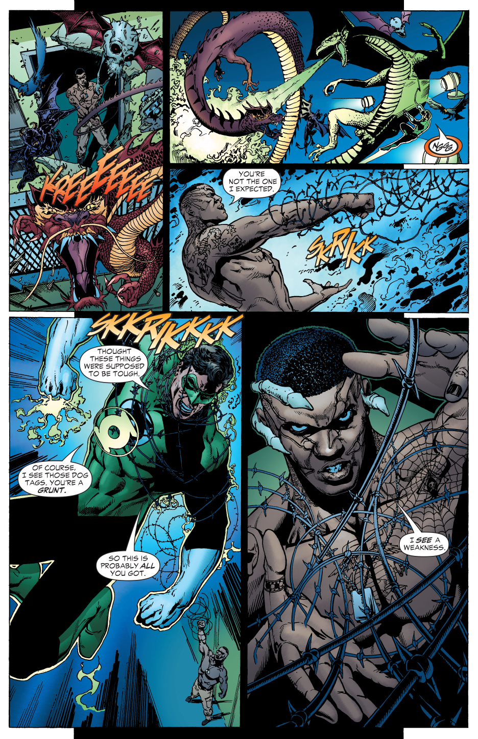 Batman And Green Lantern VS The Tattooed Man \u2013 Comicnewbies
