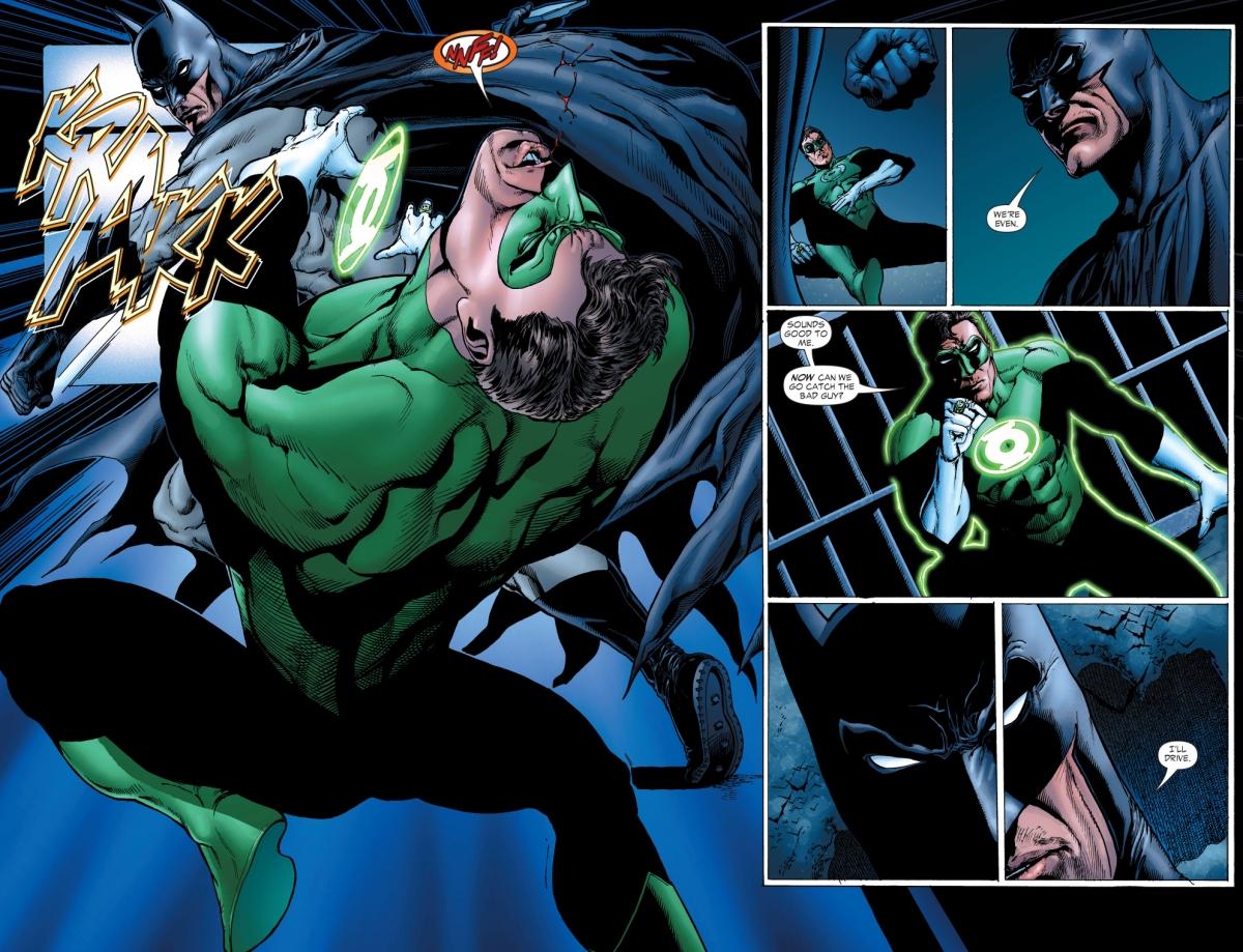 Batman Punches Green Lantern Hal Jordan  Comicnewbies-7282