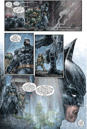 Batman Shares His Origin Story With Raphael