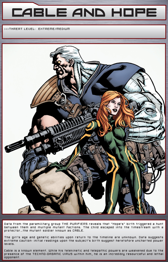 Cable And Hope Summers (Bastion's FIles)