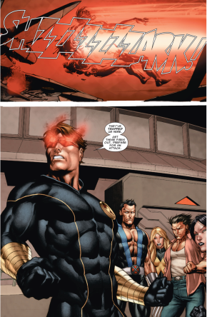 Cyclops Kills Donald Pierce