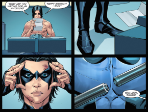 Damian Wayne Becomes Nightwing