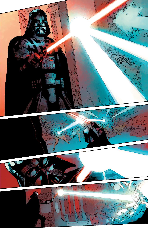 Black Spiderman Comic Darth Vader Is Ambushe...