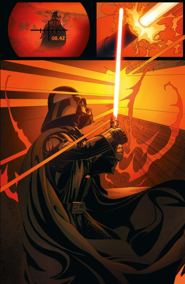 darth vader slaughtering rebel soldiers 4