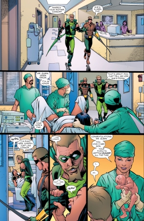 green arrow's dream under the black mercy