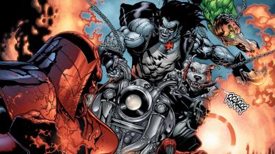 Green Lantern Hal Jordan VS Lobo (Brightest Day)