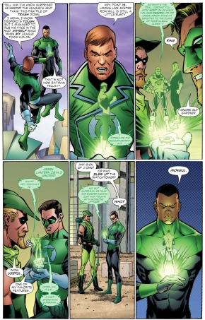 green lantern's ring has an ignore feature