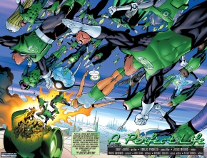 hal jordan's dream under the black mercy