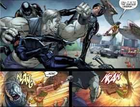 Hawkgirl VS Solomon Grundy (Injustice Gods Among Us)