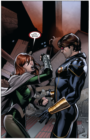Hope Summers Calls Cyclops An SOB