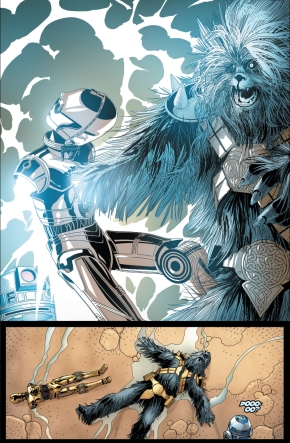 How C-3PO Took Down Black Krrsantan