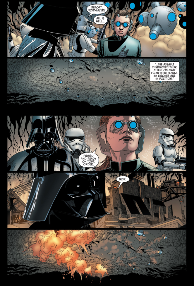 How Darth Vader Prevents Future Rebellion