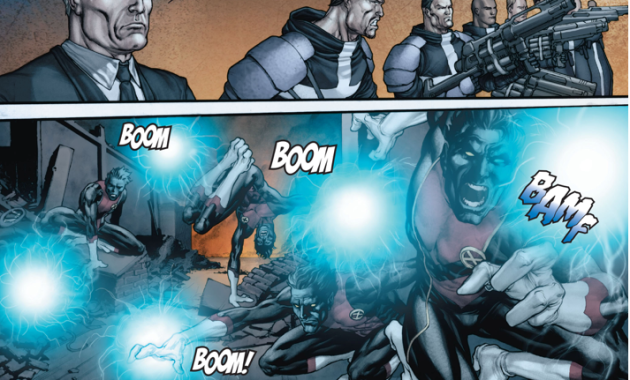 How The Purifiers Disabled Nightcrawler's Powers
