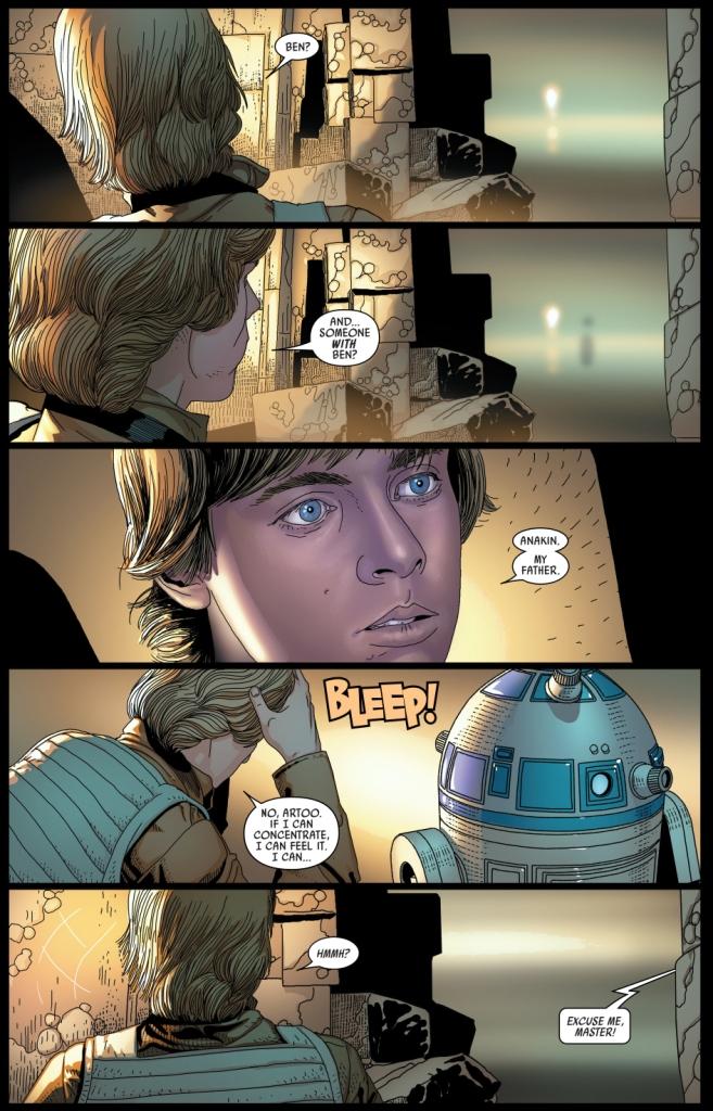 how triple zero ambushed luke skywalker