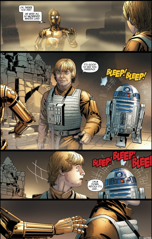 how triple zero ambushed luke skywalker