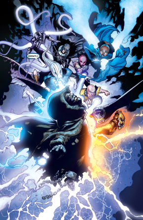 Larfleeze, Saint Walker And The Indigo Tribe VS Krona