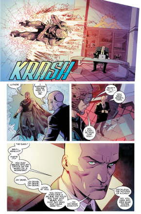 Lex Luthor Outsmarts Superman (American Alien)