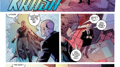 Lex Luthor Outsmarts Superman (American Alien)