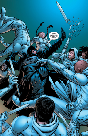 Midnighter VS 12 Orphans