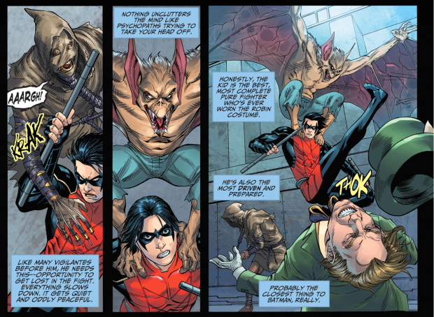 Nightwing's Thoughts On Damian Wayne (Injustice Gods Among Us)