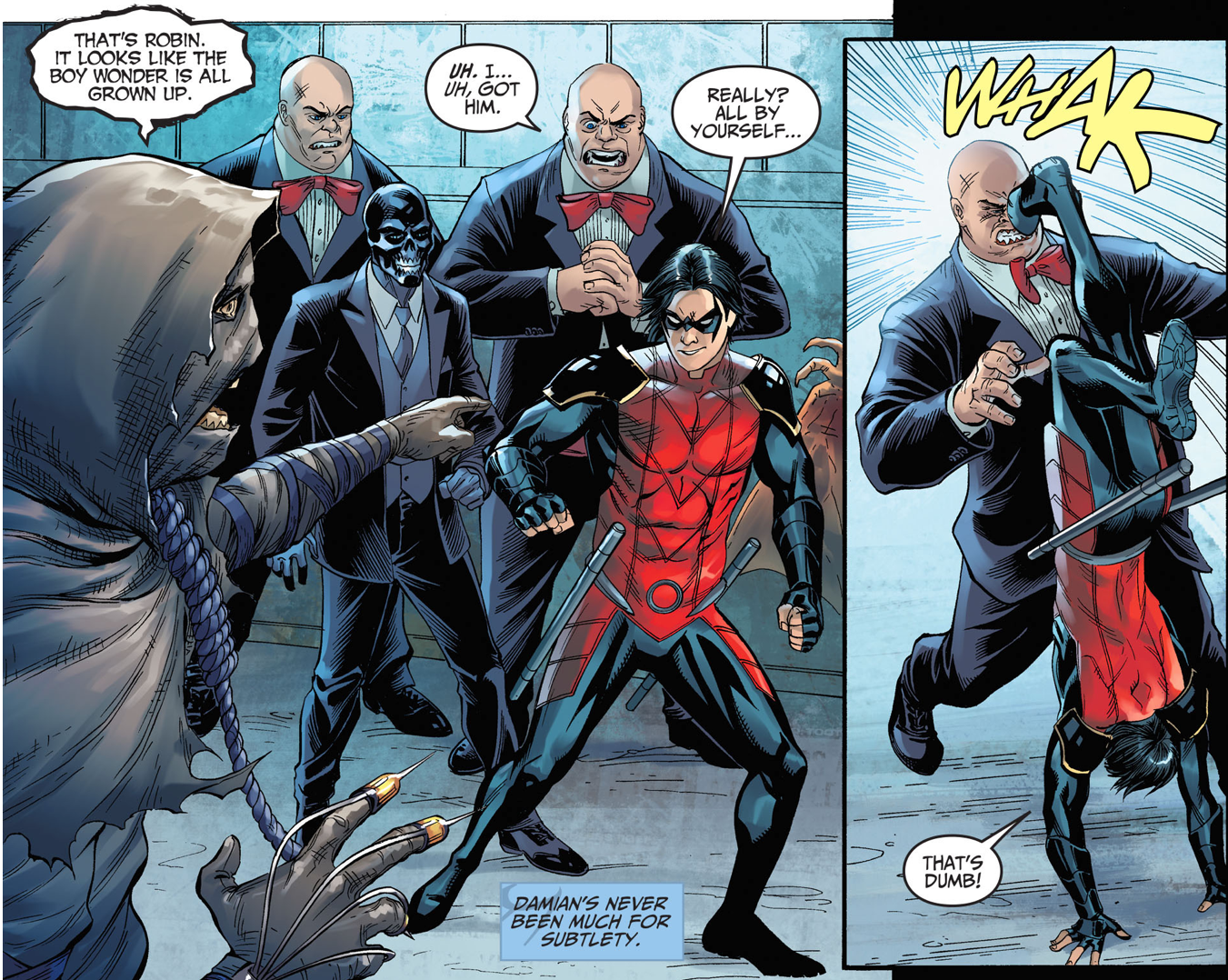 Robin VS Tweedle Dum (Injustice Gods Among Us) | Comicnewbies
