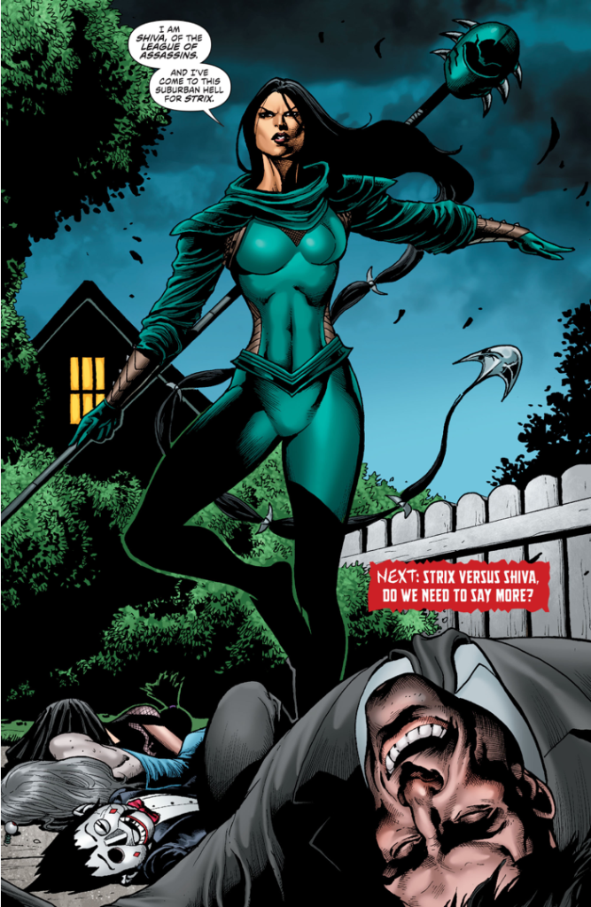 Shiva (Secret Six Vol. 4 #11)