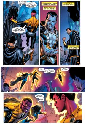 Sinestro Considers Black Adam A Friend